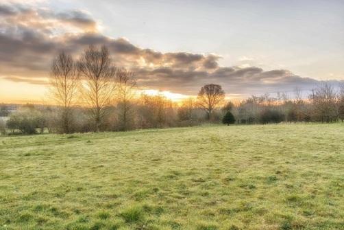 a Sunday morning sunrise