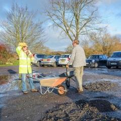 FoSCP fixing car park